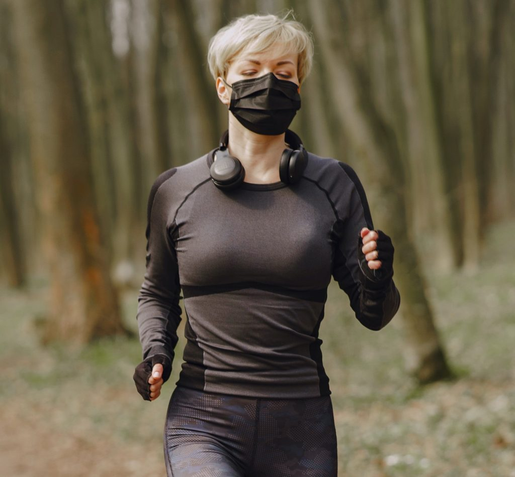 Get the best face mask for running that works for you!